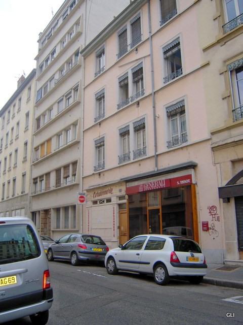 Rental apartment Lyon 7ème 390€ CC - Picture 1
