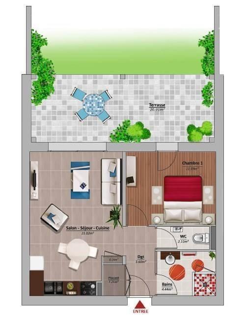 Venta  apartamento Amancy 169000€ - Fotografía 3