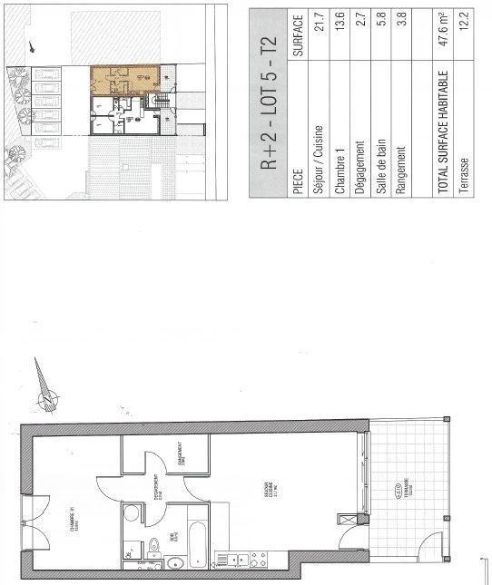 Vente de prestige appartement Ste genevieve des bois 199000€ - Photo 1