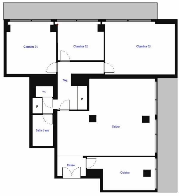 Revenda apartamento Boulogne billancourt 741000€ - Fotografia 4