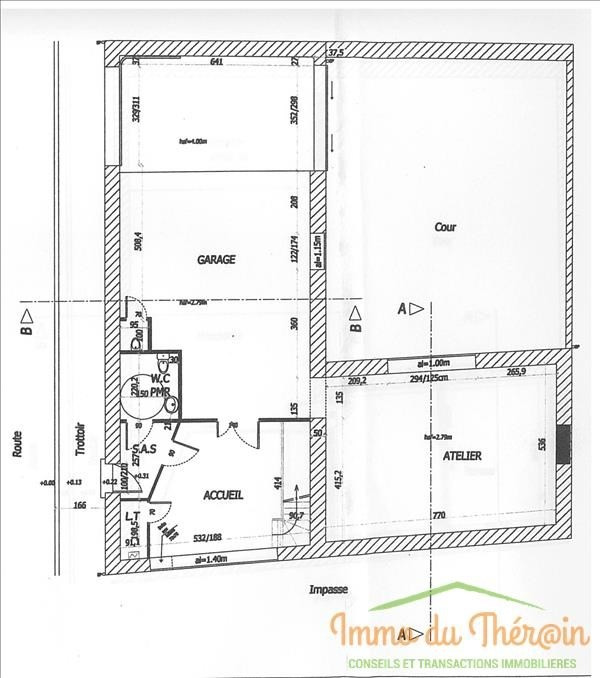 Location local commercial Cires les mello 133€ HT/HC - Photo 1