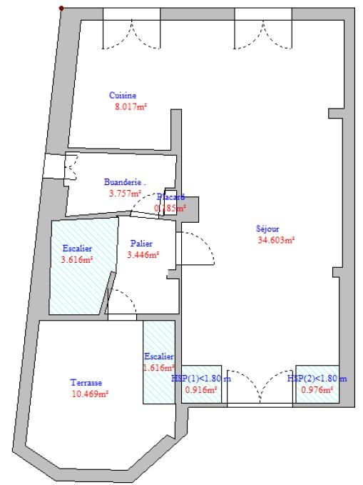 Venta  apartamento Paris 16ème 1537000€ - Fotografía 14