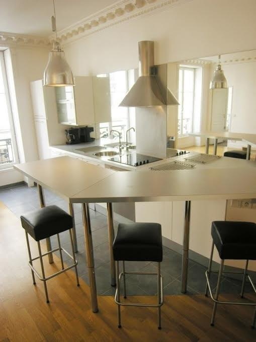 Rental apartment Paris 1er 3000€ CC - Picture 4