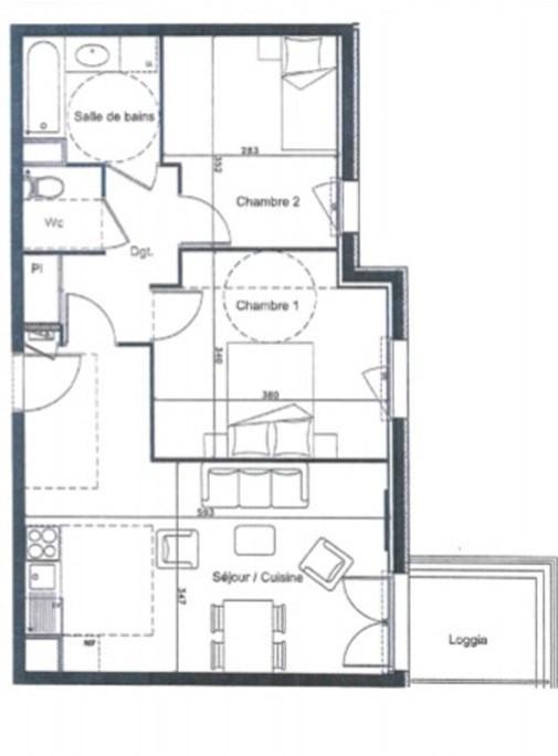 Location appartement Lozanne 698€ CC - Photo 6