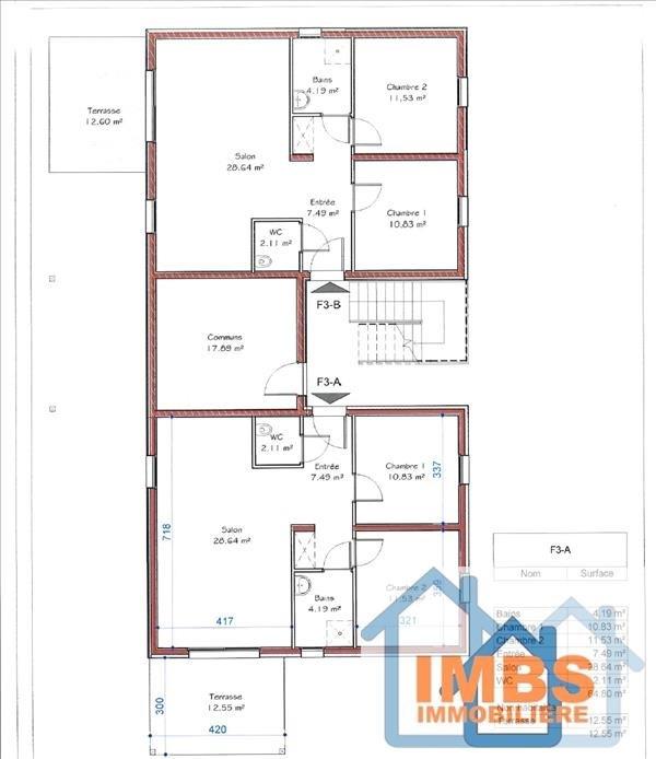 Vente appartement Attenschwiller 239560€ - Photo 3