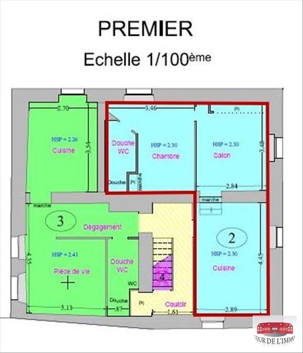 Vendita appartamento Monnetier mornex 90000€ - Fotografia 1