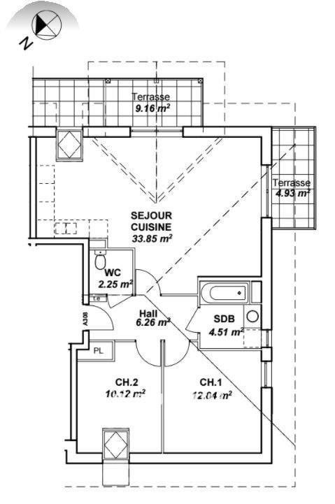 Vente appartement Amancy 262000€ - Photo 8
