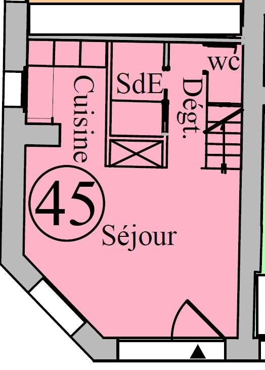 Vente de prestige appartement Paris 4ème 490000€ - Photo 19