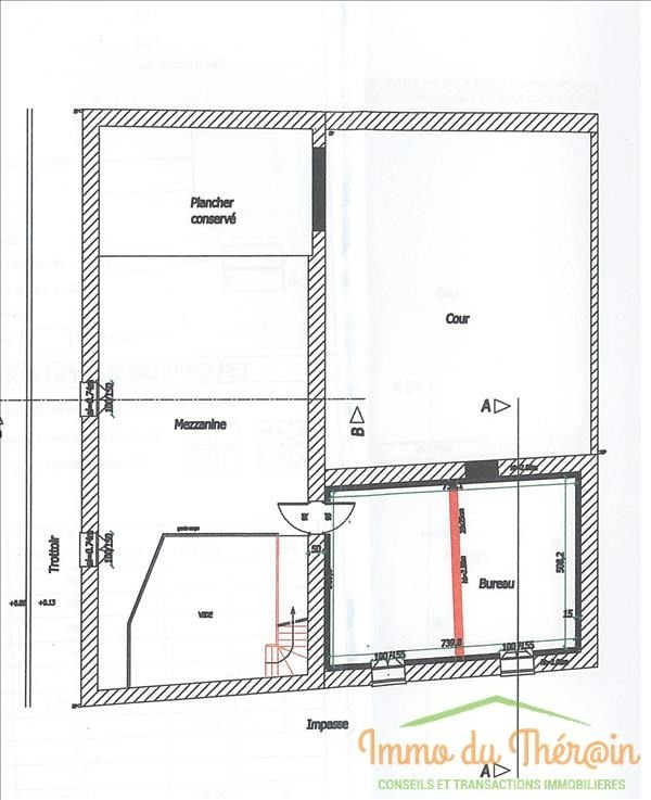 Location local commercial Cires les mello 133€ HT/HC - Photo 2