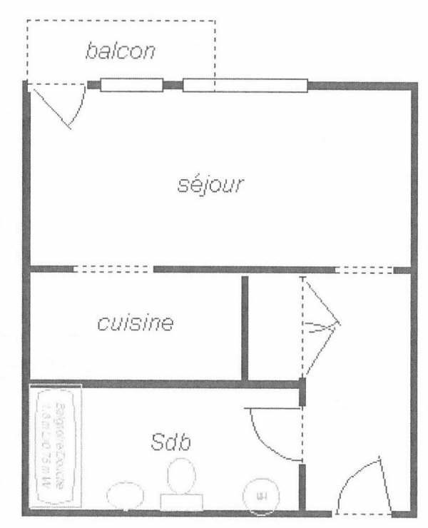Location appartement Toulouse 413€ CC - Photo 10