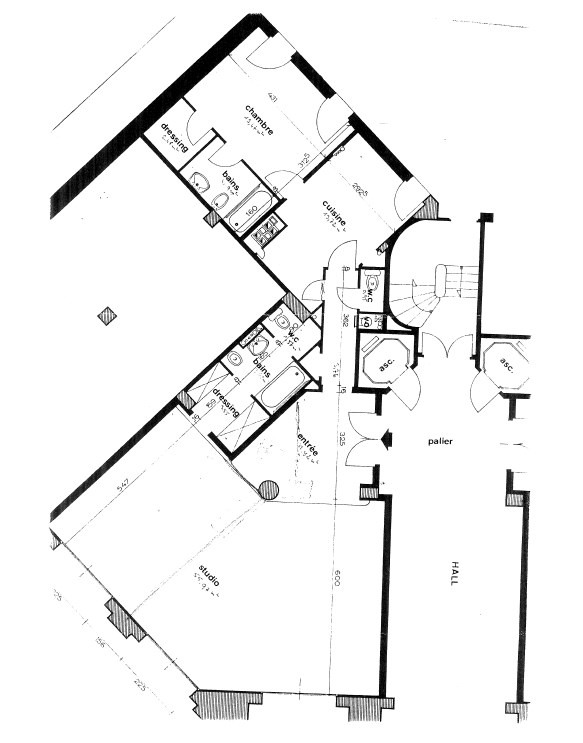 Vente appartement Paris 16ème 970000€ - Photo 15
