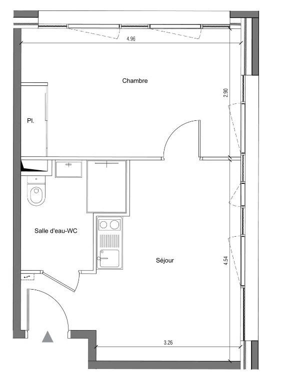 Achat appartement 2 pi ces lyon 7 r sidence tudiante - Investissement chambre etudiant ...