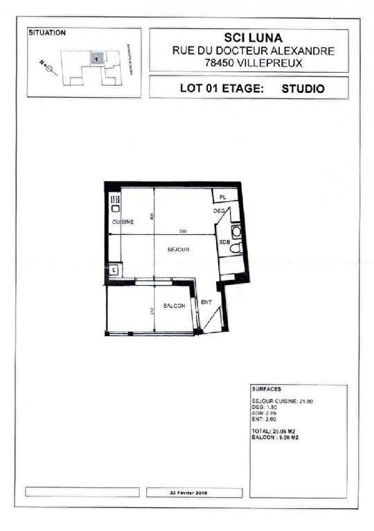 Sale apartment Villepreux 152000€ - Picture 1
