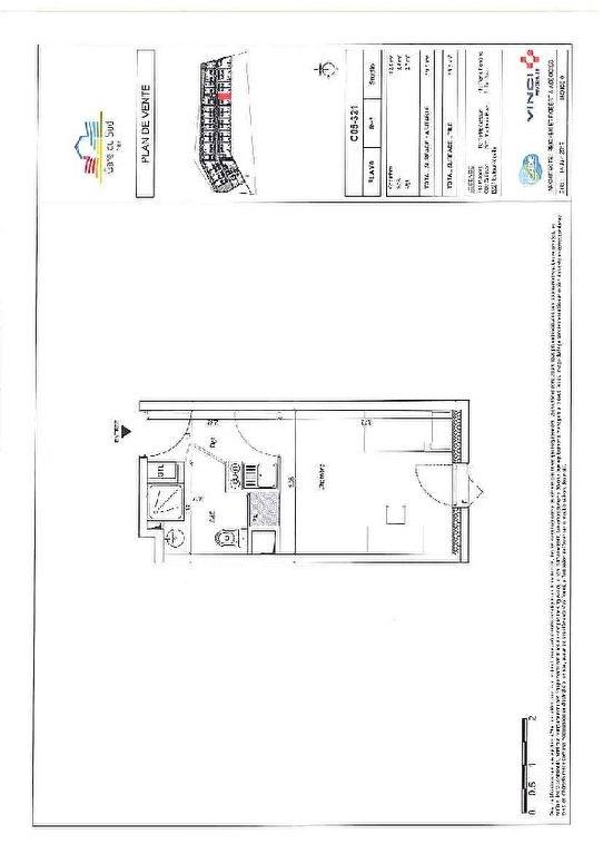 Producto de inversión  apartamento Nice 137143€ - Fotografía 5