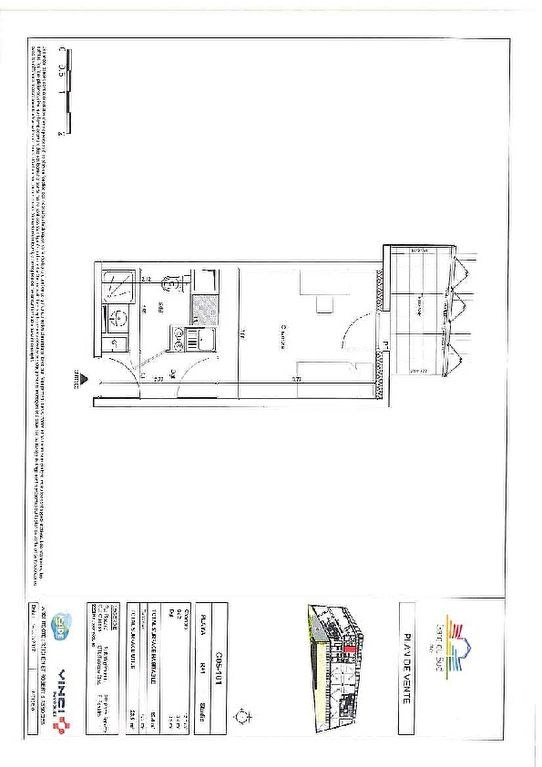 Investment property apartment Nice 137828€ - Picture 3
