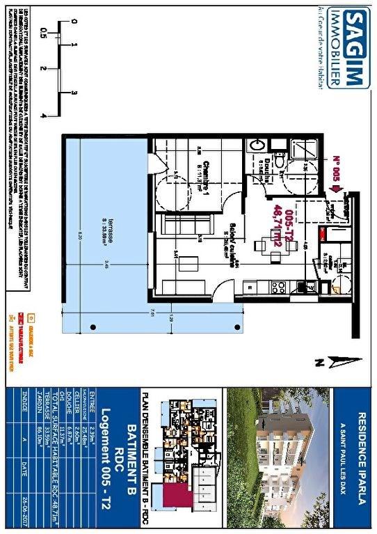 Vente appartement Saint paul les dax 129500€ - Photo 2