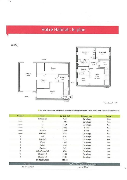 Venta  casa Avignon 165000€ - Fotografía 6
