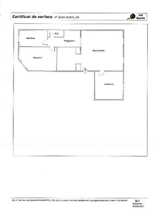 Appartement Saint Cyr Au Mont D Or 3 pièce (s) 68.36 m²