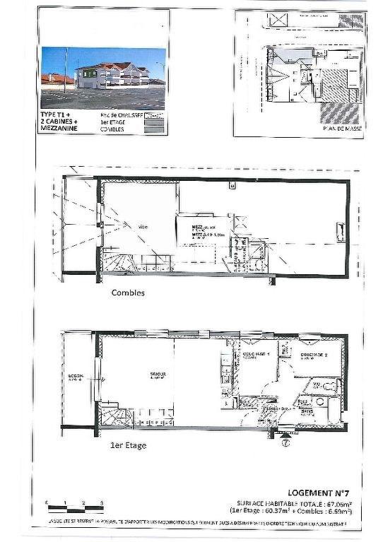 Verkoop  appartement Biscarrosse plage 251428€ - Foto 1