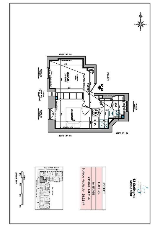 Vente appartement Nice 217000€ - Photo 9