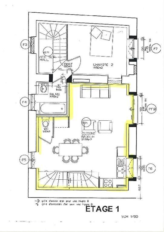Sale apartment Vaulx milieu 217000€ - Picture 2