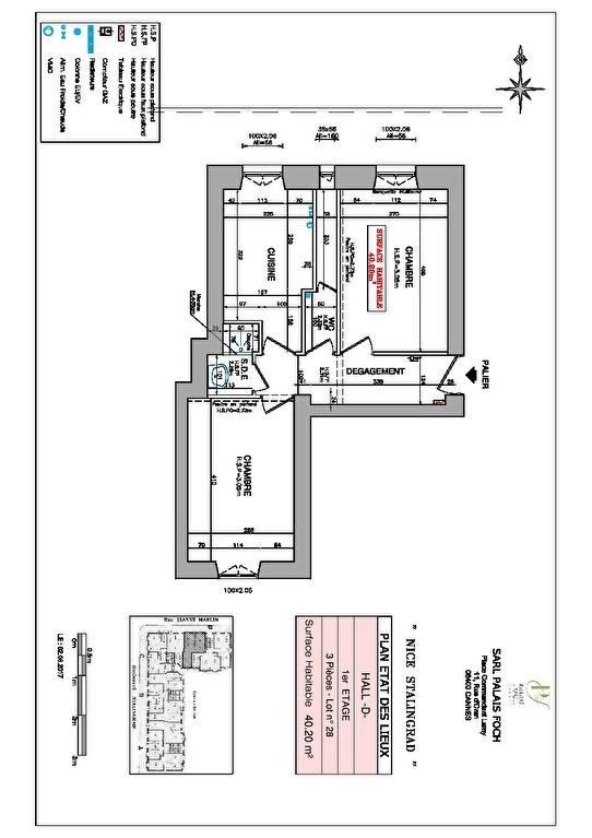Investment property apartment Nice 198000€ - Picture 3