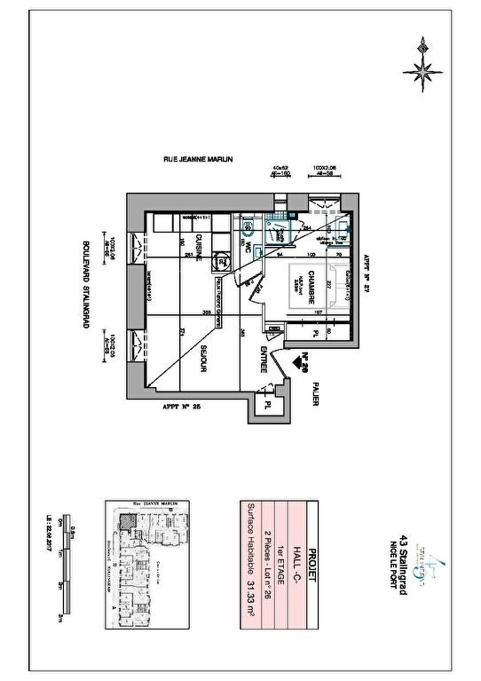 Vente appartement Nice 219000€ - Photo 9