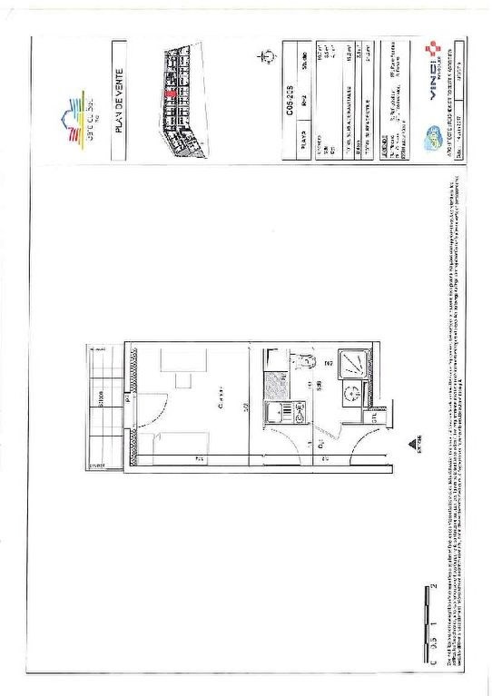 Investment property apartment Nice 130 628€ - Picture 5