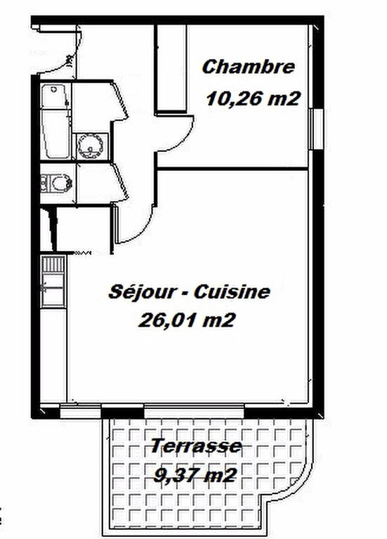 Vente appartement Aire sur l adour 83000€ - Photo 3