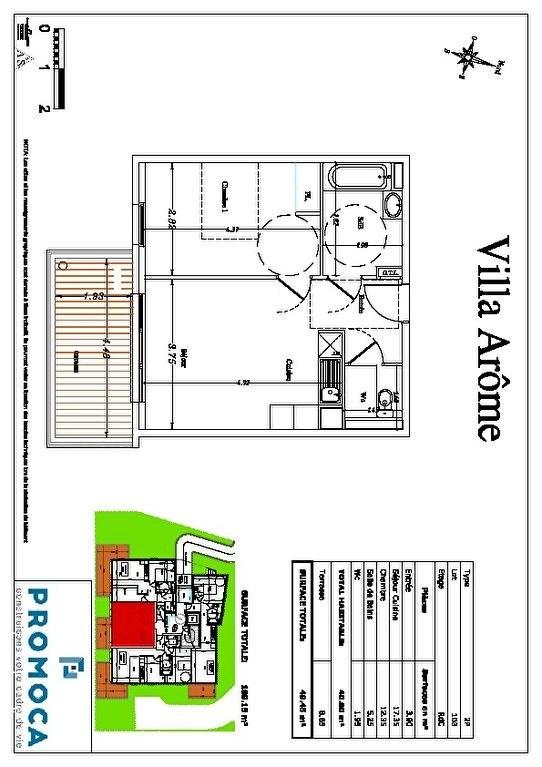 Vente appartement Saint laurent du var 195000€ - Photo 3