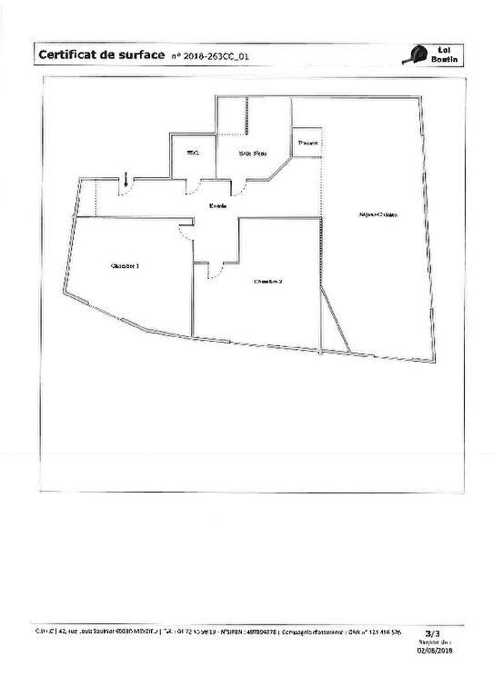 Appartement Saint Cyr Au Mont D Or 3 pièce (s) 70.76 m²