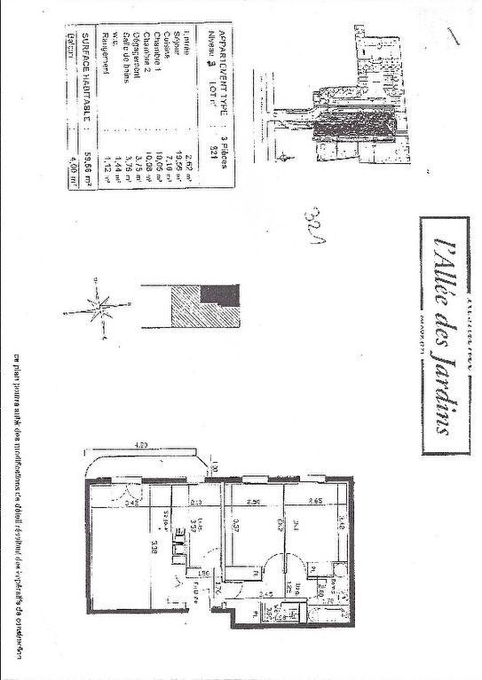 Vente appartement Meaux 187000€ - Photo 5