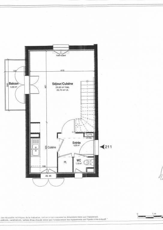 Rental apartment Villiers sur orge 925€ CC - Picture 3