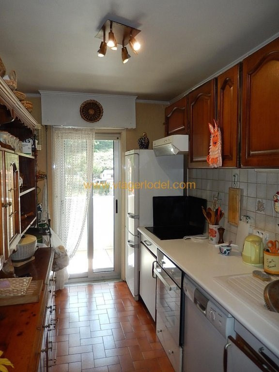 Vendita nell' vitalizio di vita appartamento Menton 52500€ - Fotografia 7