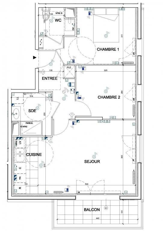 Vente appartement Bois-d'arcy 248000€ - Photo 2