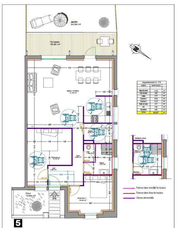 Vente maison / villa Laval 223000€ - Photo 5