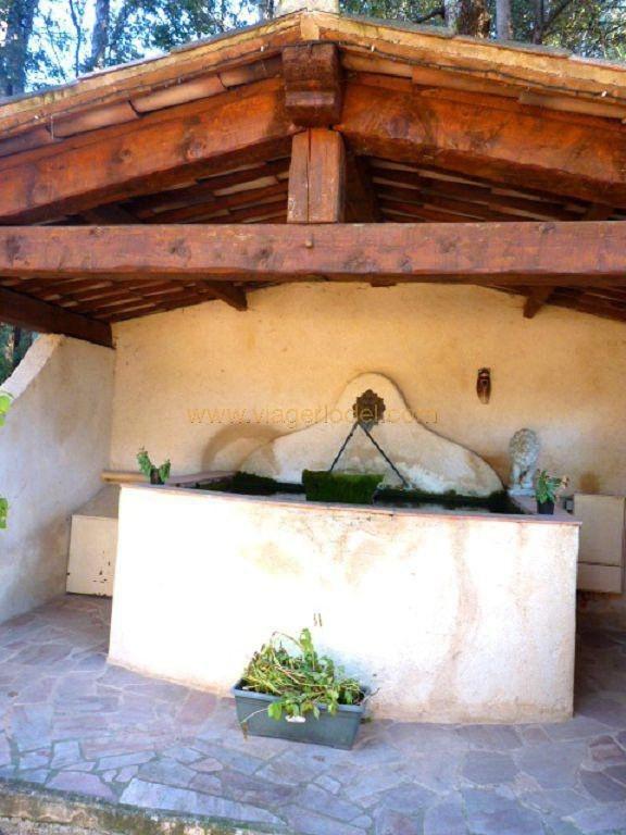 Vendita nell' vitalizio di vita casa Villecroze 144000€ - Fotografia 13