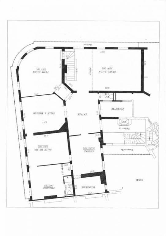 Immobile residenziali di prestigio appartamento Paris 8ème 4800000€ - Fotografia 9