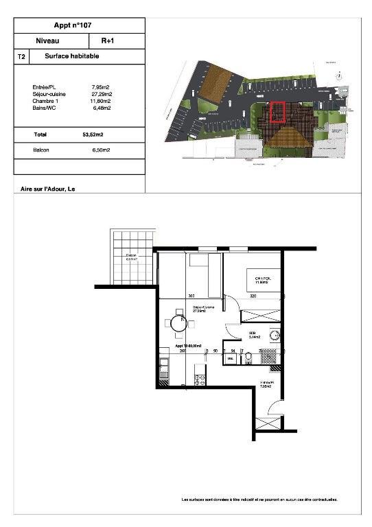 Rental apartment Aire sur l adour 450€ CC - Picture 1