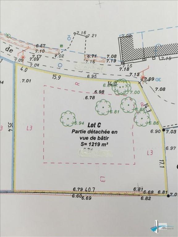 Vente terrain Ambares et lagrave 137000€ - Photo 1