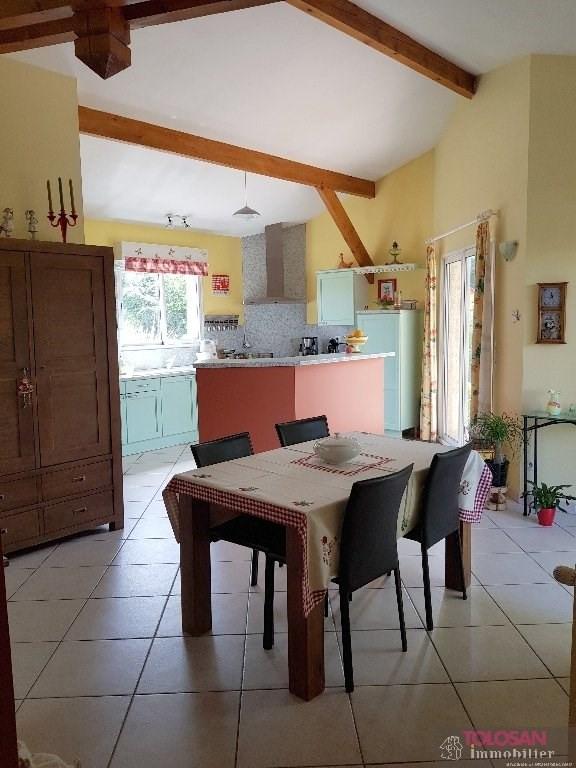 Vente maison / villa Ayguesvives 343000€ - Photo 5