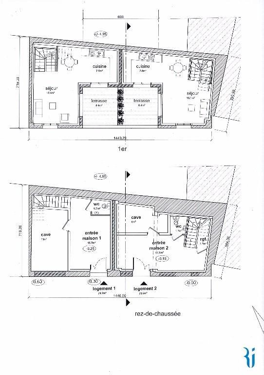 Sale house / villa Rouen 230000€ - Picture 3