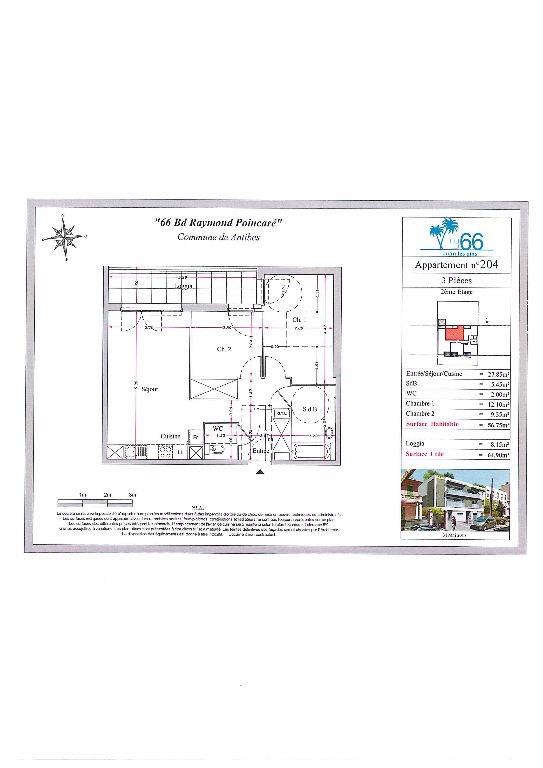Vendita appartamento Antibes 280000€ - Fotografia 2