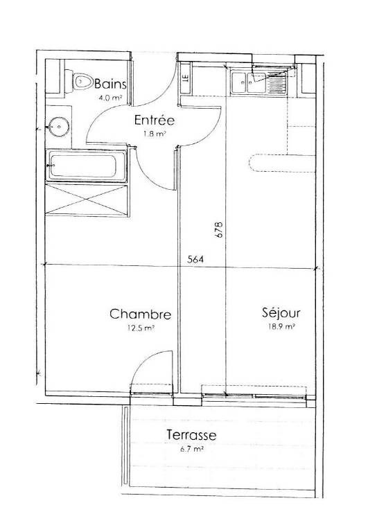 Location appartement Avignon 565€ CC - Photo 5