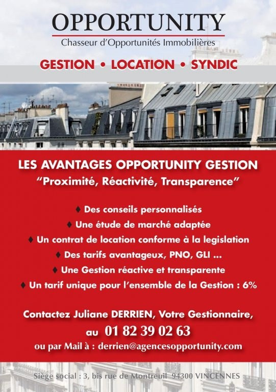 Vente appartement Montreuil 440000€ - Photo 1