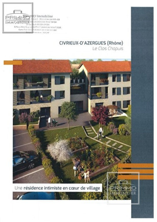 Programme neuf Civrieux-d'azergues 2 pièce(s) 42.68 m2