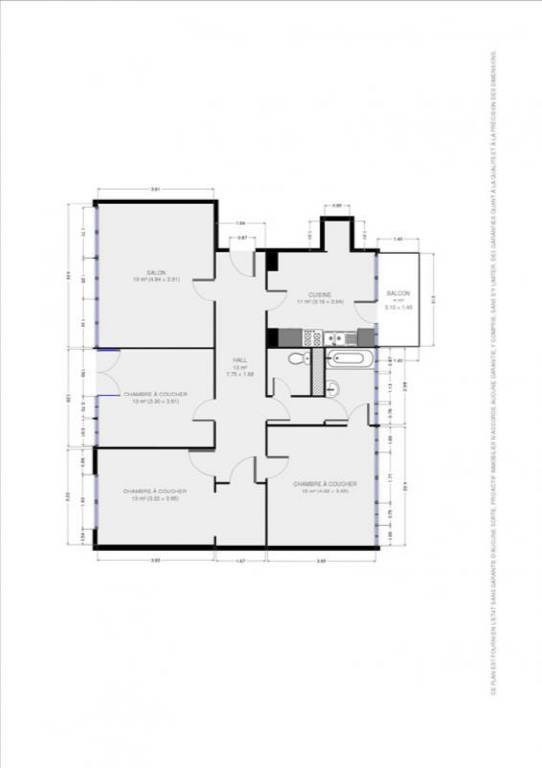 Vente appartement Grenoble 169000€ - Photo 11