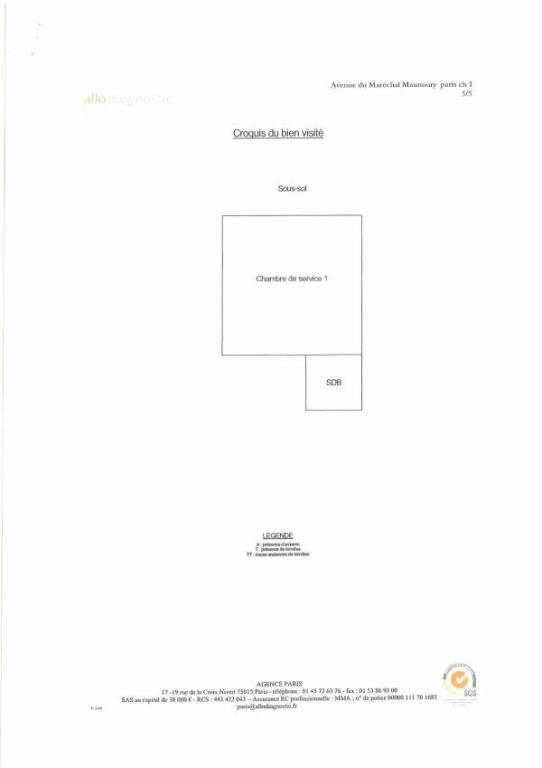 Престижная продажа квартирa Paris 16ème 8400000€ - Фото 24
