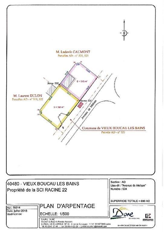 Vente terrain Vieux boucau les bains 140000€ - Photo 1