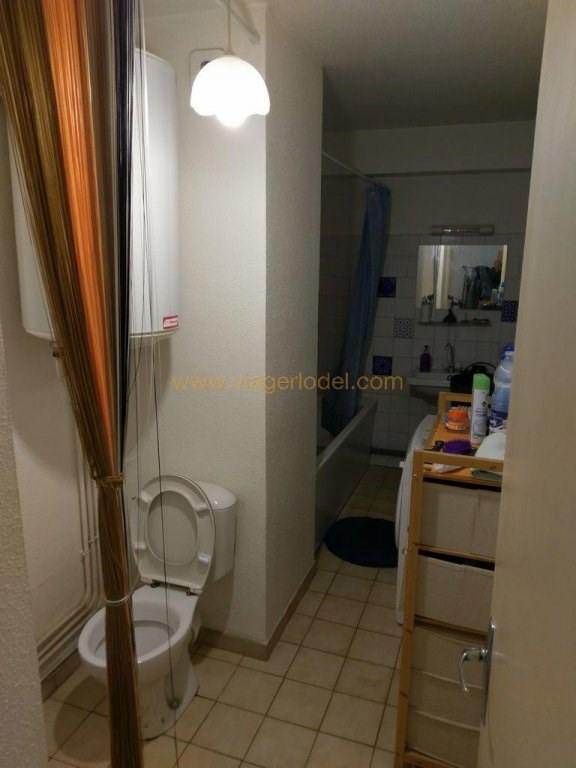 Verkauf auf rentenbasis wohnung Nîmes 28000€ - Fotografie 8